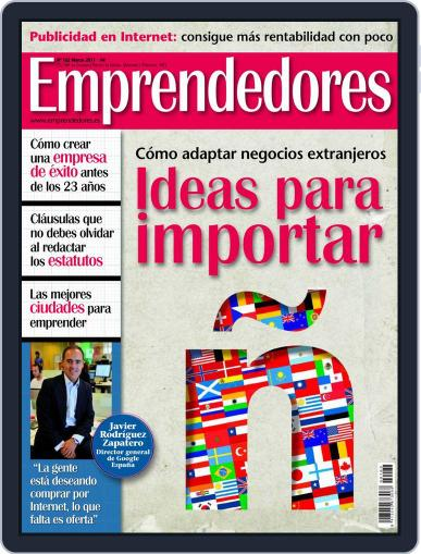 Emprendedores February 25th, 2011 Digital Back Issue Cover
