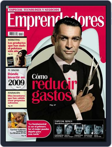 Emprendedores November 24th, 2008 Digital Back Issue Cover