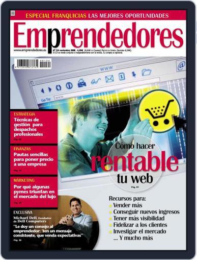 Emprendedores October 22nd, 2008 Digital Back Issue Cover
