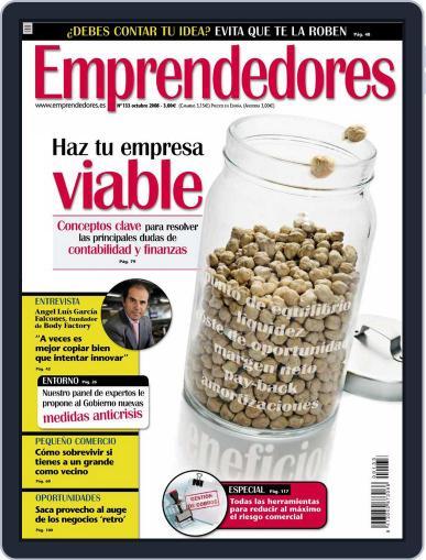 Emprendedores September 23rd, 2008 Digital Back Issue Cover