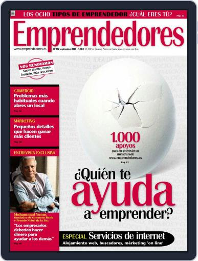 Emprendedores August 21st, 2008 Digital Back Issue Cover