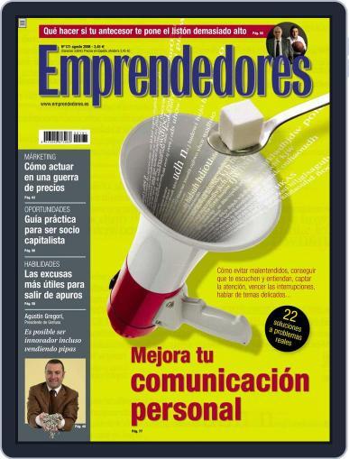 Emprendedores July 22nd, 2008 Digital Back Issue Cover