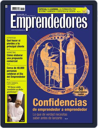 Emprendedores June 27th, 2008 Digital Back Issue Cover