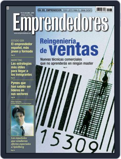 Emprendedores March 24th, 2008 Digital Back Issue Cover