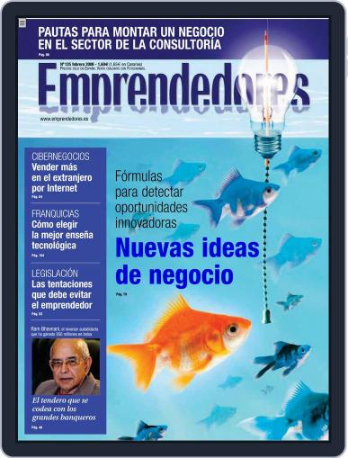 Emprendedores January 23rd, 2008 Digital Back Issue Cover
