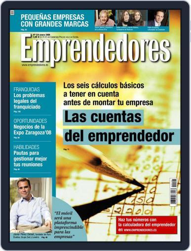 Emprendedores December 26th, 2007 Digital Back Issue Cover
