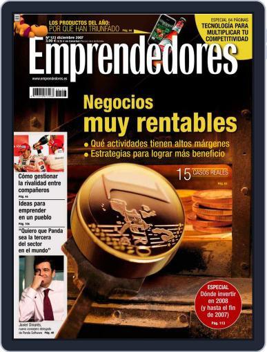 Emprendedores November 22nd, 2007 Digital Back Issue Cover
