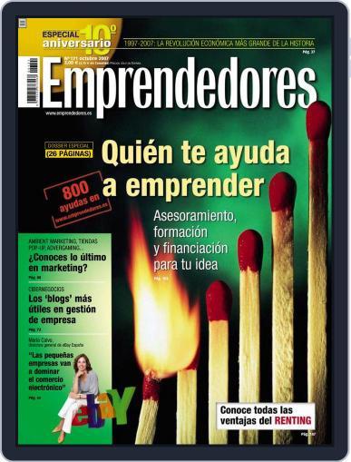 Emprendedores September 26th, 2007 Digital Back Issue Cover