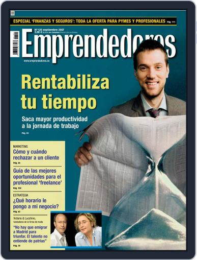 Emprendedores August 21st, 2007 Digital Back Issue Cover