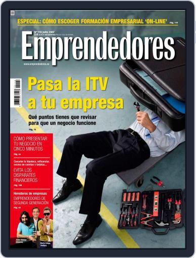 Emprendedores June 21st, 2007 Digital Back Issue Cover