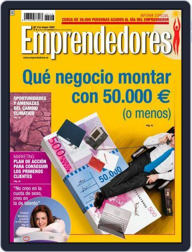 Emprendedores April 23rd, 2007 Digital Back Issue Cover
