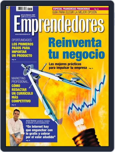 Emprendedores January 25th, 2007 Digital Back Issue Cover