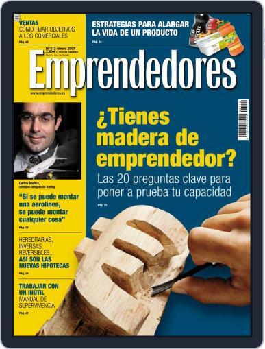 Emprendedores December 29th, 2006 Digital Back Issue Cover