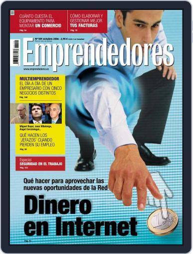 Emprendedores October 2nd, 2006 Digital Back Issue Cover