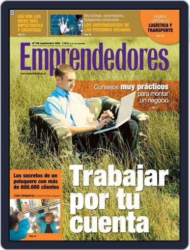 Emprendedores August 29th, 2006 Digital Back Issue Cover