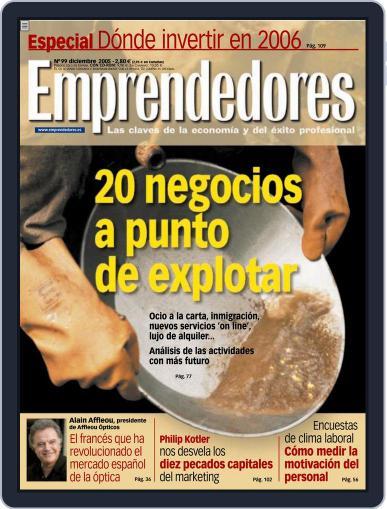 Emprendedores November 24th, 2005 Digital Back Issue Cover