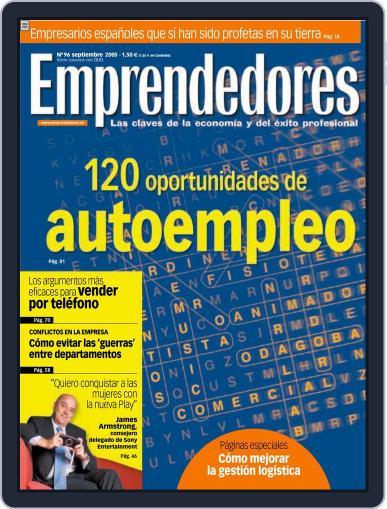 Emprendedores September 11th, 2005 Digital Back Issue Cover