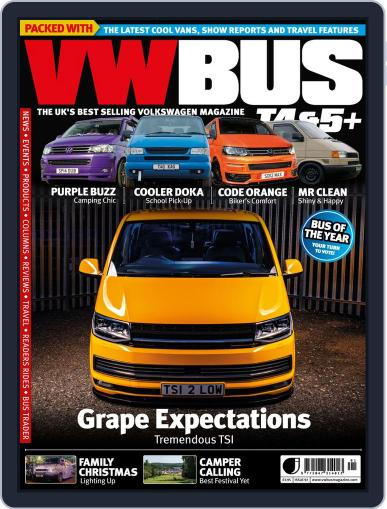 VW Bus T4&5+ (Digital) November 28th, 2019 Issue Cover