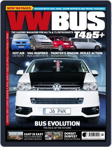 VW Bus T4&5+ (Digital) January 13th, 2015 Issue Cover