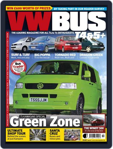 VW Bus T4&5+ (Digital) January 7th, 2014 Issue Cover