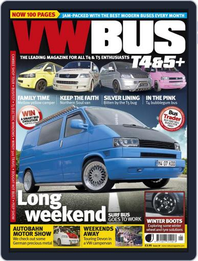 VW Bus T4&5+ (Digital) December 23rd, 2013 Issue Cover