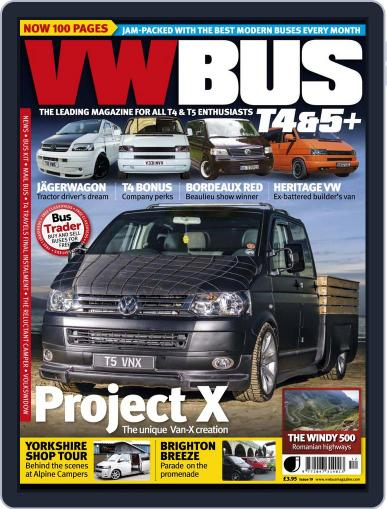 VW Bus T4&5+ (Digital) November 13th, 2013 Issue Cover