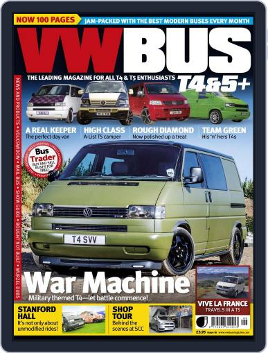 VW Bus T4&5+ (Digital) August 14th, 2013 Issue Cover