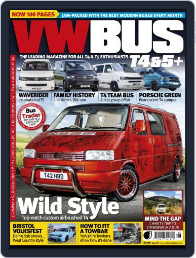 VW Bus T4&5+ (Digital) July 9th, 2013 Issue Cover