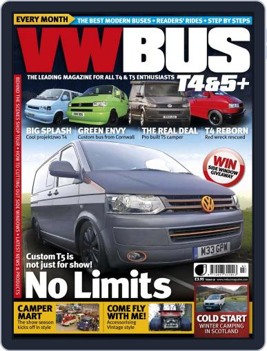 VW Bus T4&5+ (Digital) February 13th, 2013 Issue Cover