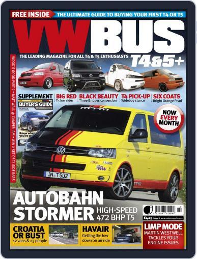 VW Bus T4&5+ (Digital) September 7th, 2012 Issue Cover
