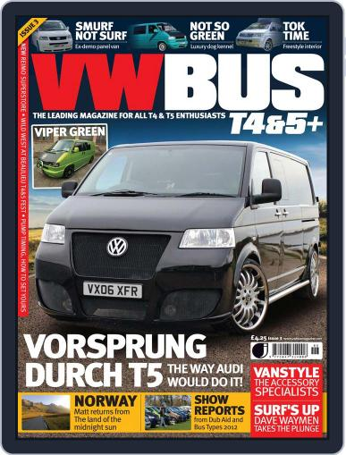 VW Bus T4&5+ (Digital) May 31st, 2012 Issue Cover
