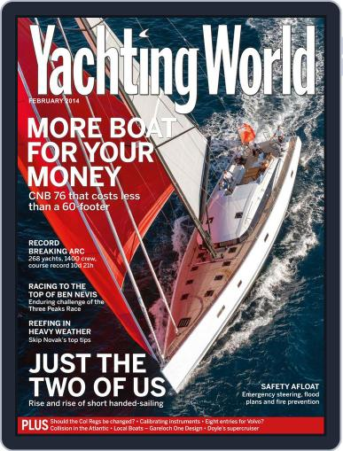 Yachting World (Digital) January 8th, 2014 Issue Cover