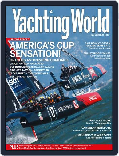 Yachting World (Digital) October 9th, 2013 Issue Cover