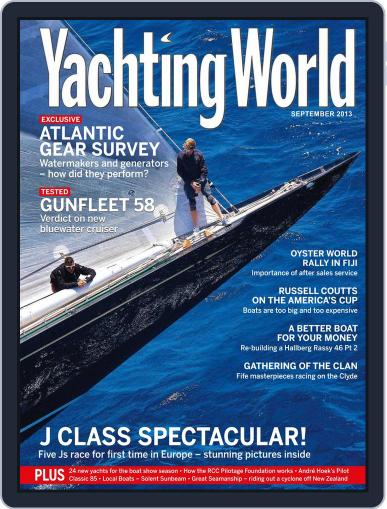 Yachting World (Digital) August 7th, 2013 Issue Cover