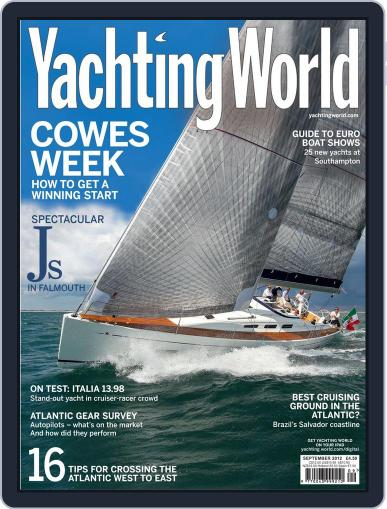 Yachting World (Digital) August 8th, 2012 Issue Cover