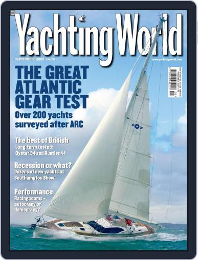 Yachting World (Digital) August 12th, 2009 Issue Cover