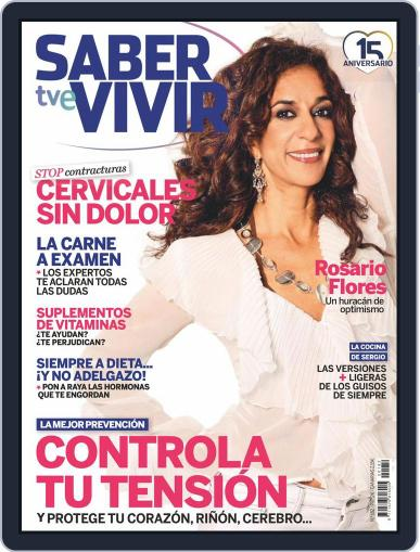 Saber Vivir (Digital) December 1st, 2015 Issue Cover