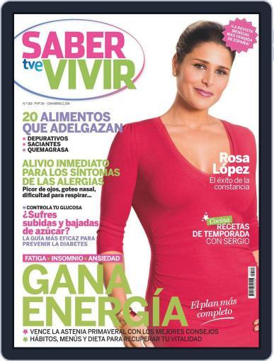 Saber Vivir (Digital) April 22nd, 2014 Issue Cover