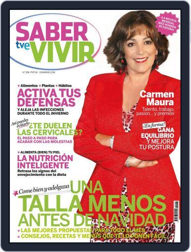 Saber Vivir (Digital) November 19th, 2013 Issue Cover