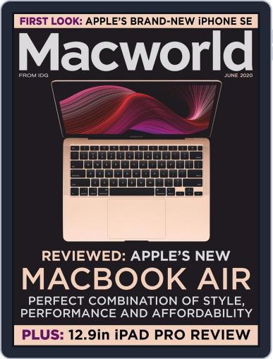 Macworld UK June 1st, 2020 Digital Back Issue Cover