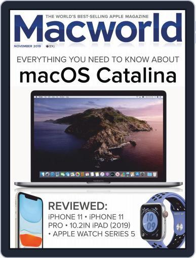 Macworld UK November 1st, 2019 Digital Back Issue Cover