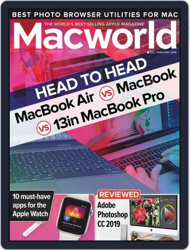 Macworld UK (Digital) February 1st, 2019 Issue Cover
