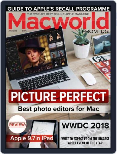 Macworld UK (Digital) June 1st, 2018 Issue Cover