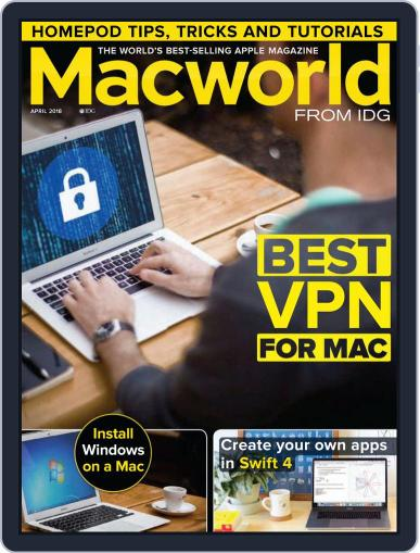 Macworld UK (Digital) April 1st, 2018 Issue Cover