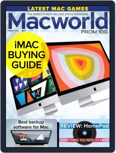 Macworld UK (Digital) March 1st, 2018 Issue Cover