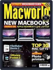 Macworld UK (Digital) Subscription October 23rd, 2008 Issue