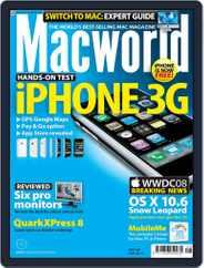 Macworld UK (Digital) Subscription June 18th, 2008 Issue