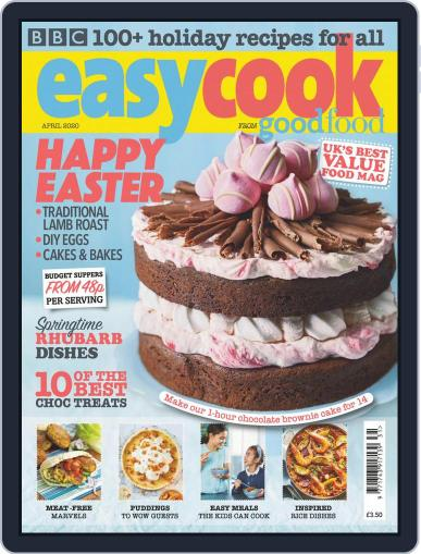 BBC Easycook April 1st, 2020 Digital Back Issue Cover