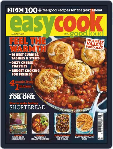 BBC Easycook January 1st, 2020 Digital Back Issue Cover