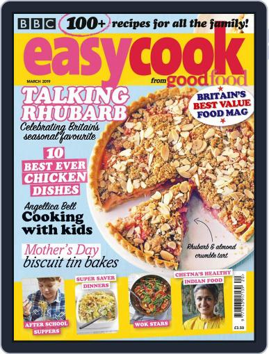 BBC Easycook March 1st, 2019 Digital Back Issue Cover
